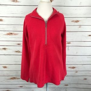 Tommy Bahama Aruba 1/2 Zip Pullover Red